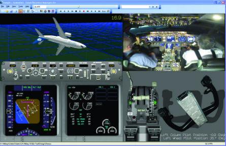 737 training screen