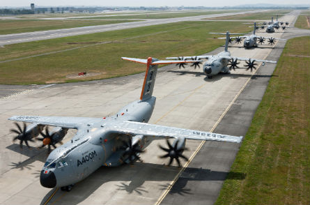 A400M line Toulouse - Airbus Military