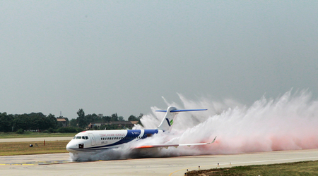 ARJ21 engine inlet tests