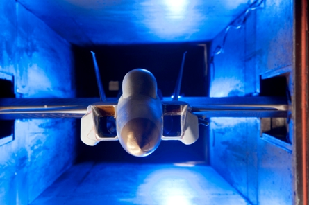 f-15se cwb wind tunnel test