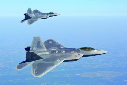 F-22 pair