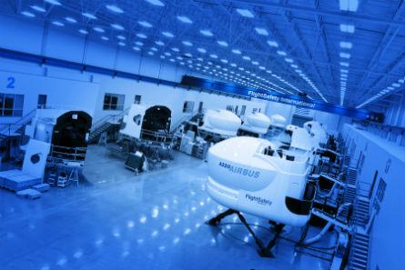 Flightsafety facility