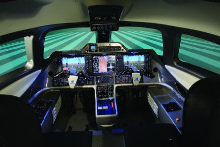 Frasca light jet FTP