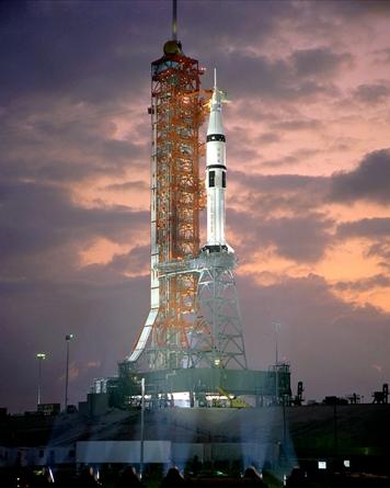 Saturn II launchpad