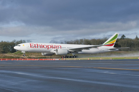 Ethipian Airlines Boeing 777-20LR