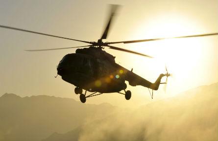 Mi-17 Afghan - ISAF