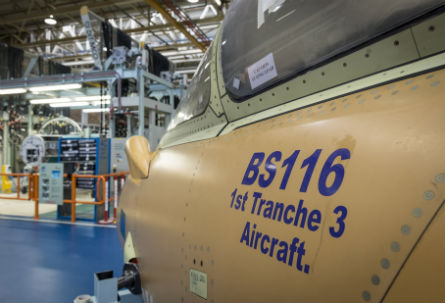 Typhoon Tranche 3 nose - BAE Systems