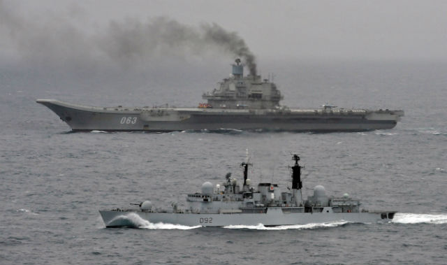 Admiral Kuznetsov - Crown Copyright