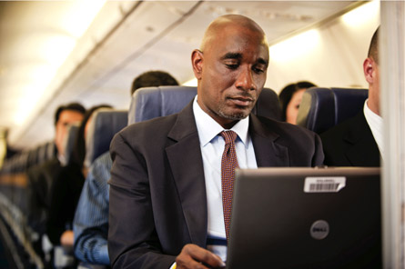 Airline computer use