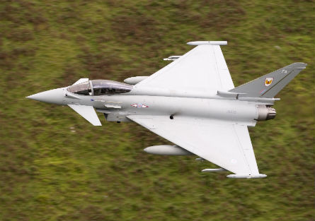 RAF Typhoon 1 Sqn - Pay Peter Foster