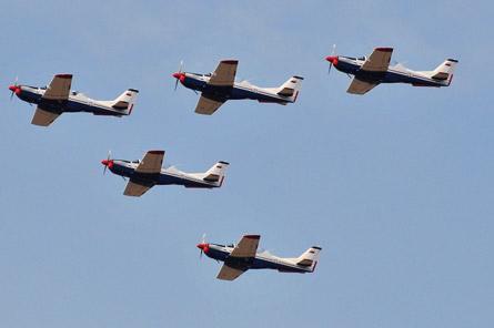 Serbian air force Utva Lasta trainers