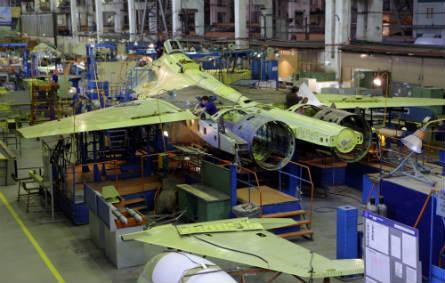 Su-30SM assembly - Irkut