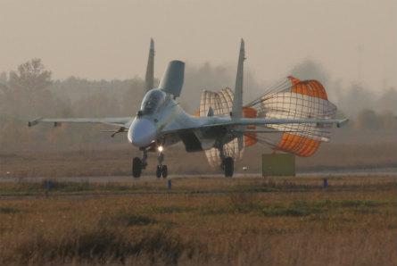 Su-30SM chute - Irkut