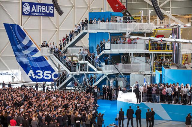 A350 ceremony