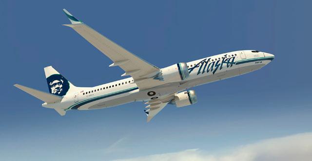 Alaska Airlines Max 640