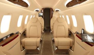 Bombardier Learjet 85 interior