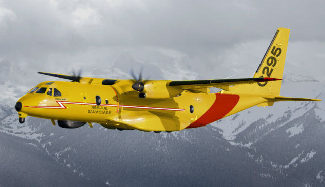 C295 mock-up for Canada - Airbus Military