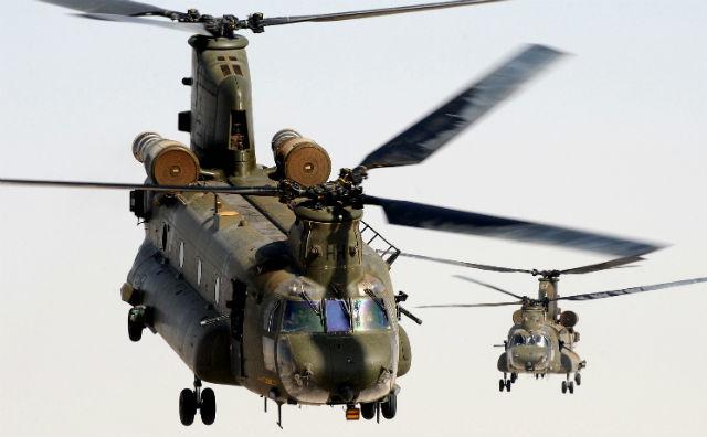Chinooks Afghan - Crown Copyright