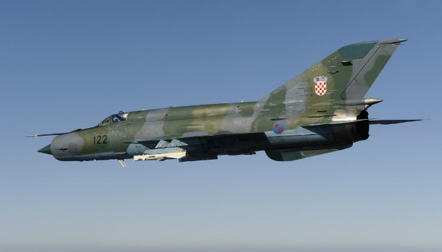 MiG-21 - Croatian defence ministry