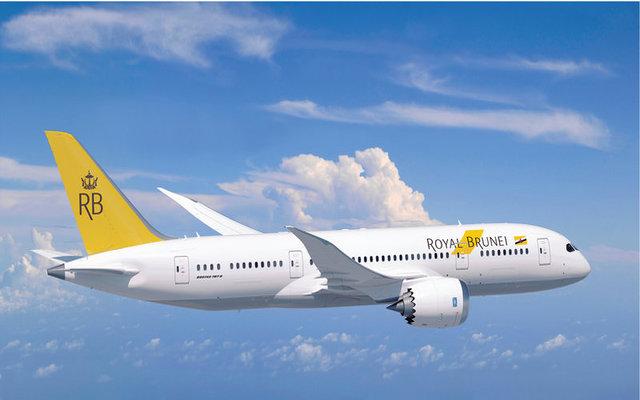 Royal Brunei new livery 787