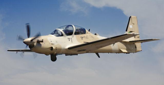 Super Tucano Mauritania air - Embraer