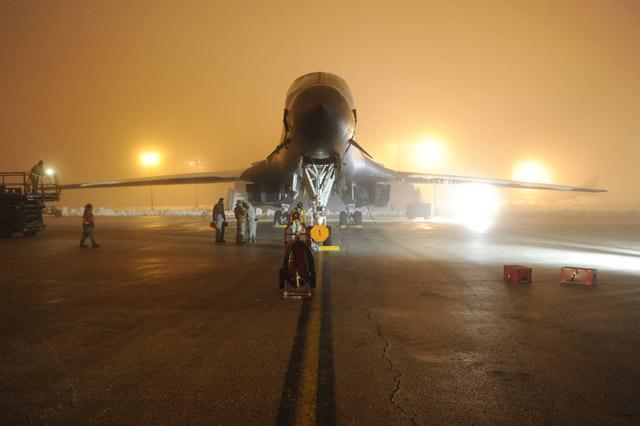 USAF B-1B bomber