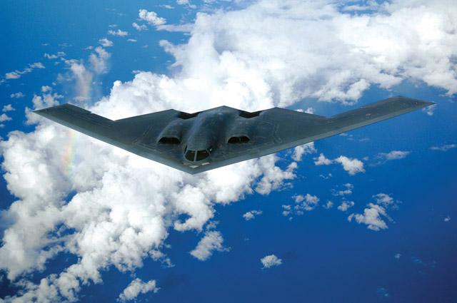 USAF B-2 bomber