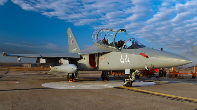 Yak-130 Russian air force - Irkut
