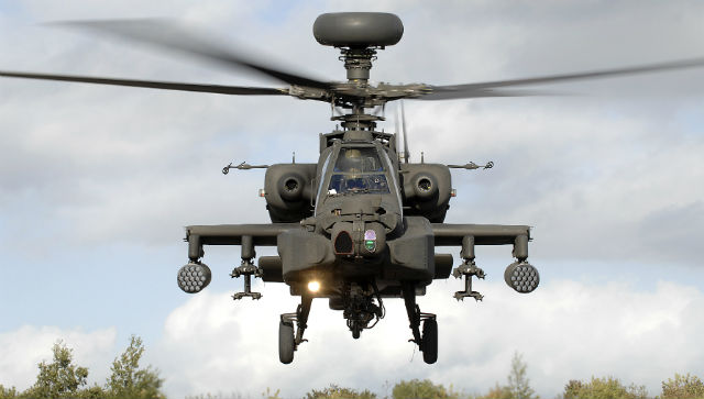 Apache AH1 - Crown Copyright