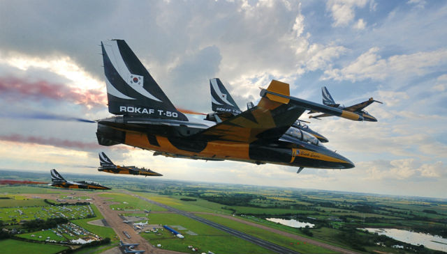 Black Eagles T-50s - ROKAF