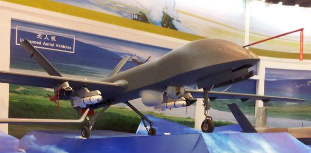 CH-4 UAV - Greg Waldron