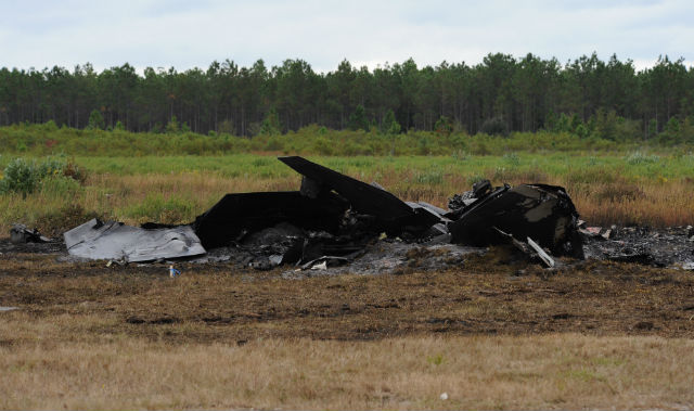 F-22 crash close - US Air Force