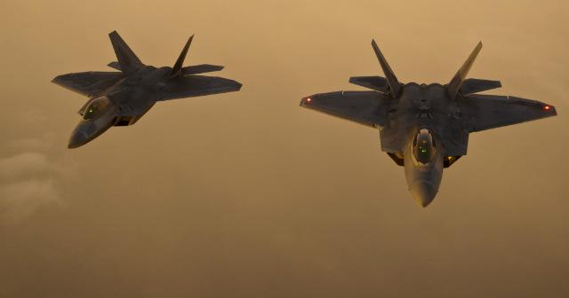 F-22 pair - USAF