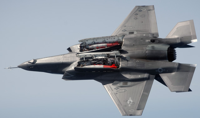 f-35b bombs