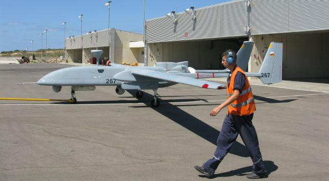 Heron 1 Israeli air force - Arie Egozi