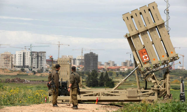 Iron Dome - Rex Features
