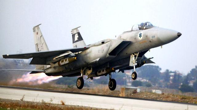 Israeli F-15 - Rex Features