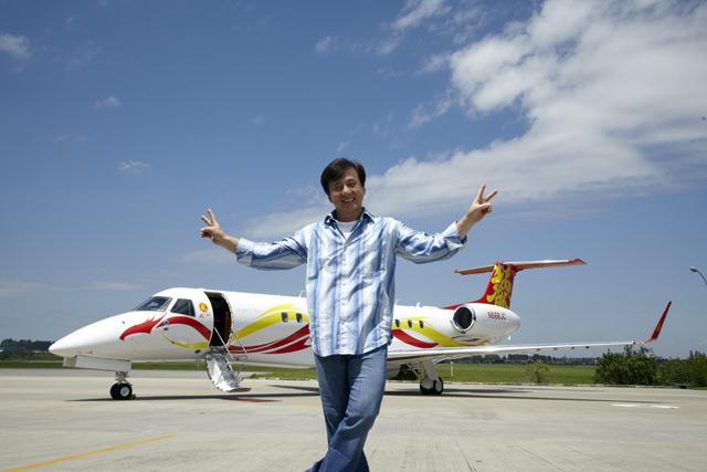 Jackie Chan Embraer Legacy 650