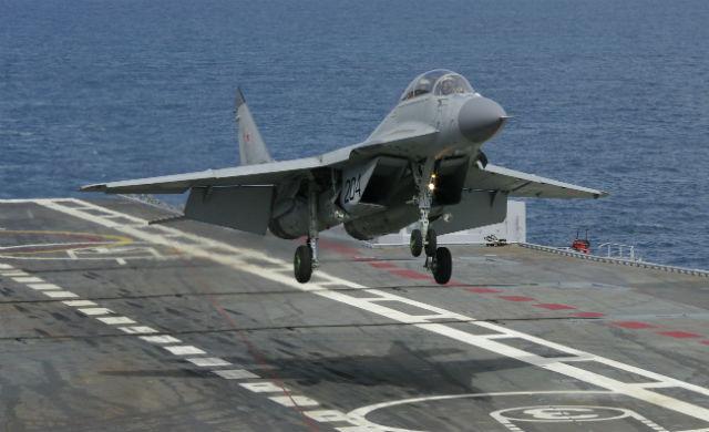 MiG-29KUB India - RAC MiG