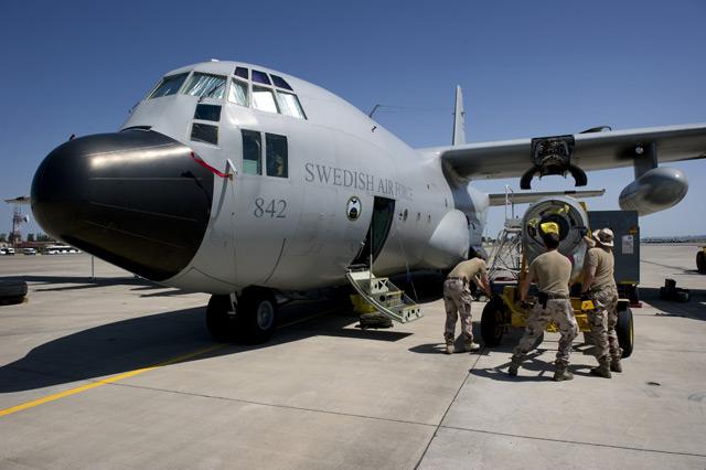 Swedish air force KC-130H