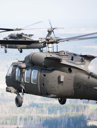 Swedish air force UH-60Ms