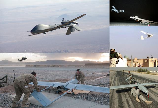 UAV montage