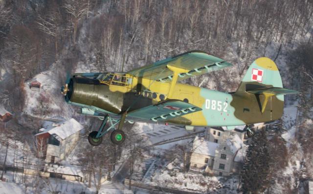 Polish air force Antonov An-2