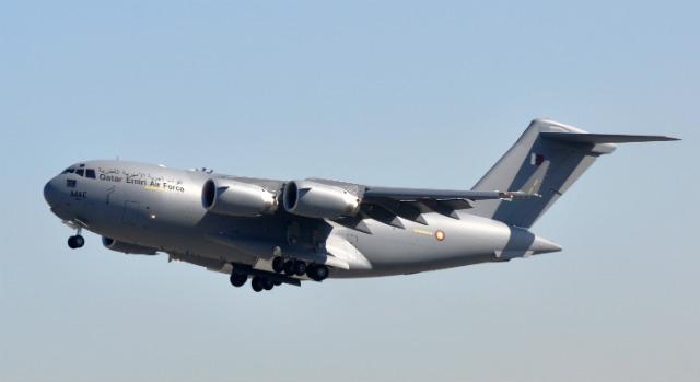 Qatar C-17 4 - Boeing