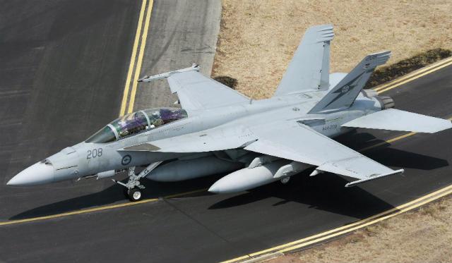 RAAF Super Hornet - RAAF
