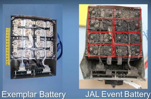 787 battery compare