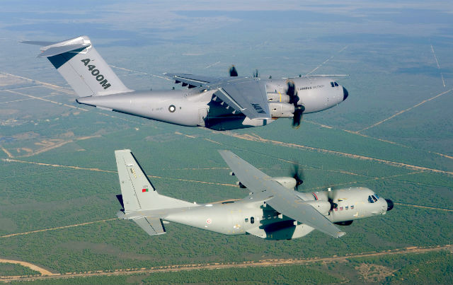 Airbus Military pair