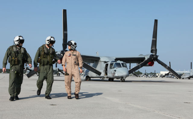 Israel V-22 pilots - Israeli air force magazine