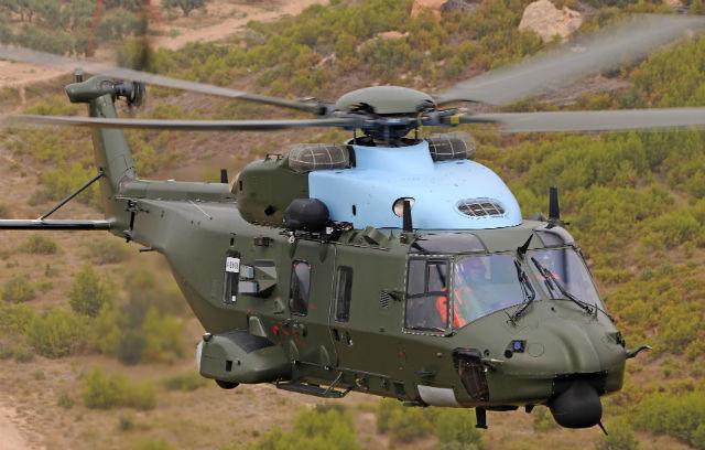 NH90 Belgium - Eurocopter