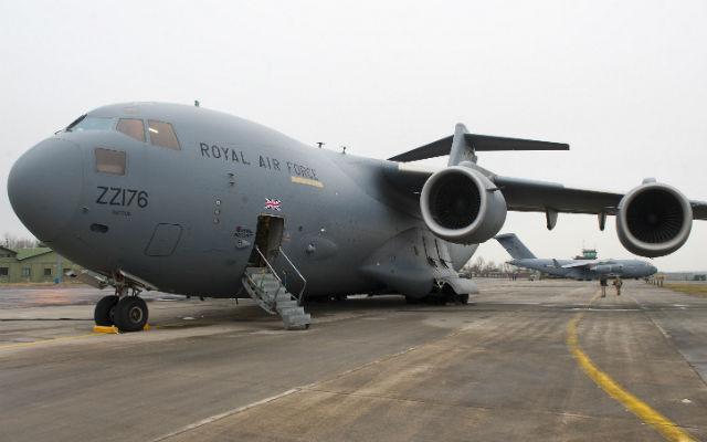 RAF C-17s - Crown Copyright